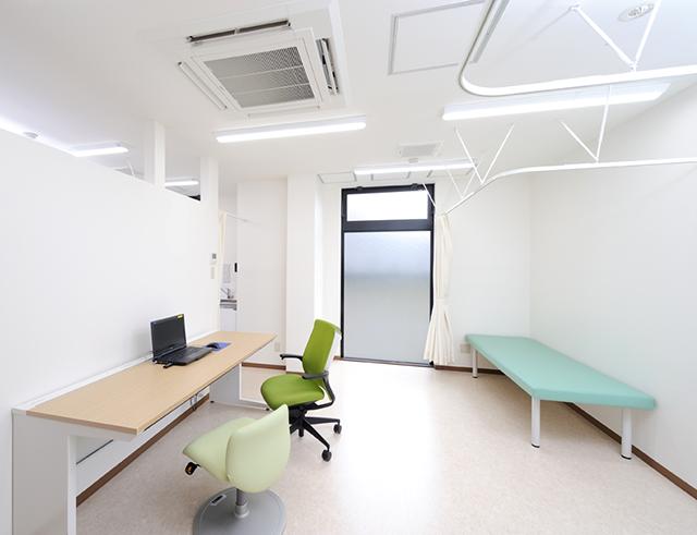 クリニックの診察室