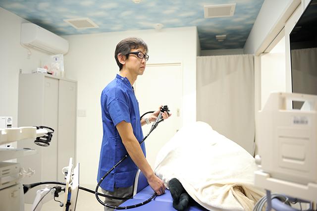 大腸の内視鏡検査