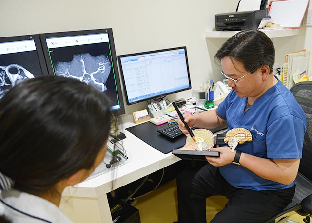 最新鋭の診療設備と来院し易い環境で認知症治療をサポート
