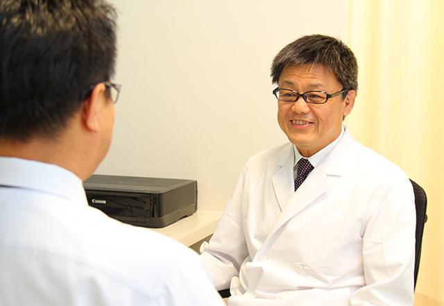 近年急増している前立腺がんの説明