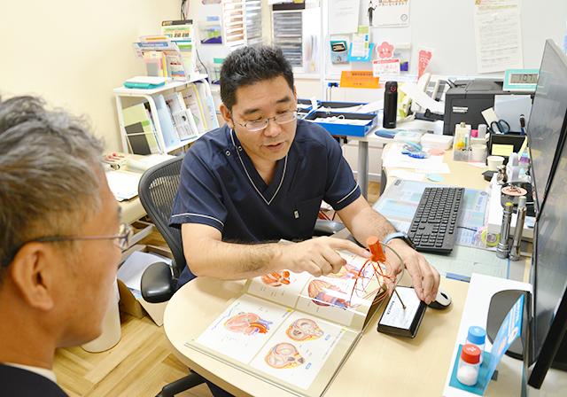日本人の三大死因の一つ「狭心症」についてインタビュー