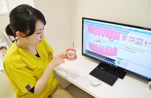 矯正歯科治療の治療の流れについて説明