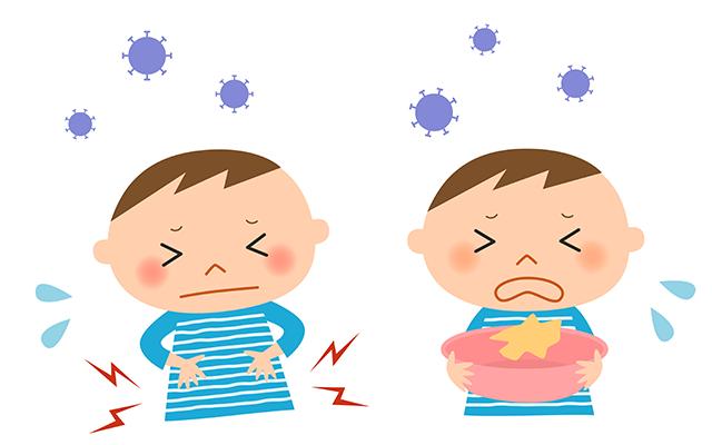 下痢と嘔吐
